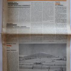 Ziar Tribuna Romaniei Nr. 221/ 15 ian. 1982