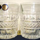 Cristal BOHEMIA set 6 pahare  whisky   10300//240  model classic- old fashion, 240 ml