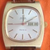 Ceas de mana Omega Geneve. Automatic. Placat cu aur. Cu data si zi. Elegant. Pozele sunt reale.