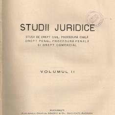 N. Georgean - Studii juridice ( volumul II - 1928 ) - Carte Teoria dreptului
