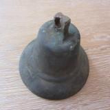 Vechi clopot de bronz - Metal/Fonta