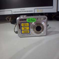 APARAT FOTO SONY DSC S650, OFER CABLU DE DATE(LM1) - Aparat Foto compact Sony
