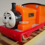 My First Thomas by Golden Bear trenulet - Billy locomotiva portocalie dintoasa ( transport 2.6 RON la plata in avans )