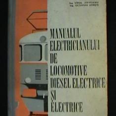 Carti Electrotehnica - VIRGIL JIDVEIANU*OCTAVIAN UDRISTE - MANUALUL ELECTRICIANULUI DE LOCOMOTIVE DIESEL ELECTRICE SI ELECTRICE
