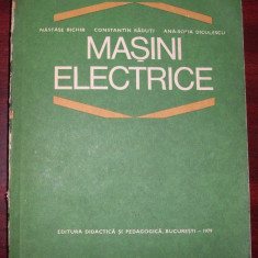 Nastase Bichir s.a. - Masini electrice - Carti Electrotehnica