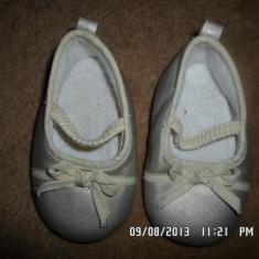 PANTOFI AURII, 12 CM INTERIOR, CA NOI, GERMANIA - Pantofi copii, Culoare: Auriu, Fete