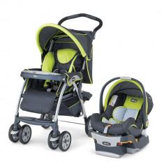 Carucior 3 in 1 Chicco Cortina SE Travel System - Carucior copii 3 in 1 Chicco, Pliabil, Multicolor