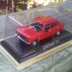 Macheta auto, 1:43 - Macheta metal DeAgostini Zastava 101 SIGILATA colectia Masini de Legenda Serbia