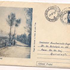 Plic circulat(intreg postal)-SPRE BUCEGI, Dupa 1950