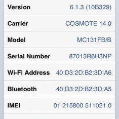 Vand iPhone 3Gs Apple, Negru, 16GB, Neblocat