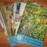 revista APICULTURA IN ROMANIA,colectie completa pe anul 1980 (stuparit,albinelor,stuparului,albinarit) 8 lei/revista