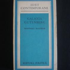 MARSHALL McLUHAN - GALAXIA GUTENBERG {1975} - Carte Sociologie