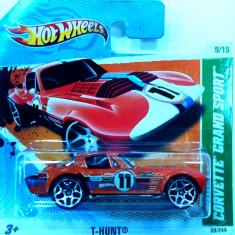 HOT WHEELS -TREASURE HUNT-CORVETTE GRAND SPORT ++2501 LICITATII !! - Macheta auto