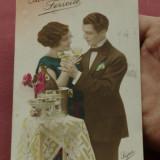carte postala --- interbelica - intragostiti !!!