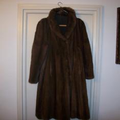 Vizon haina de blana, Marime: XS/S, Culoare: Maro, Maro