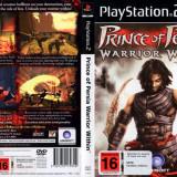 Joc original Prince Of Persia Warrier Within pentru consola PlayStation2 PS2 - Jocuri PS2 Ubisoft, Actiune, Toate varstele, Single player