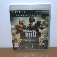 Joc PS3 - Army of Two: The Devil's Cartel : Overkill Limited Edition, sigilat - Jocuri PS3 Ea Games