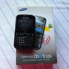 Telefon Samsung, Negru, <1GB, Neblocat, Fara procesor, Nu se aplica - Samsung chat 335