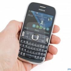 Telefon mobil Nokia Asha 302, Gri, Orange - Nokia 302 super pret !!!