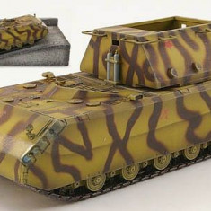 Macheta auto, 1:72 - 1402.Macheta tanc Super Heavy MAUS cu platforma - Dragon Armor scara 1:72