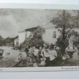 25 - TH.AMAN - PETRECERE DE 1 MAI - REPRODUCERE DE ARTA - SEPIA - COLECTIA SFETEA - PERIOADA INTERBELICA
