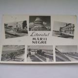 C.P. LITORALUL MARII NEGRE COLAJ DE 6 IMAGINI - Carti Postale Romania dupa 1918, Circulata