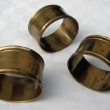 Trei inele pentru servetele din bronz - Metal/Fonta, Ornamentale