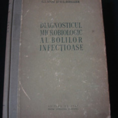 Carte Boli infectioase - G. I SANAI, O. G. BIRGHER - DIGNOSTICUL MICROBIOLOGIC AL BOLILOR INFECTIOASE