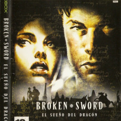 Jocuri Xbox Thq, Actiune, 12+, Single player - JOC XBOX clasic THE BROKEN SWORD THE SLEEPING DRAGON ORIGINAL PAL / STOC REAL / by DARK WADDER