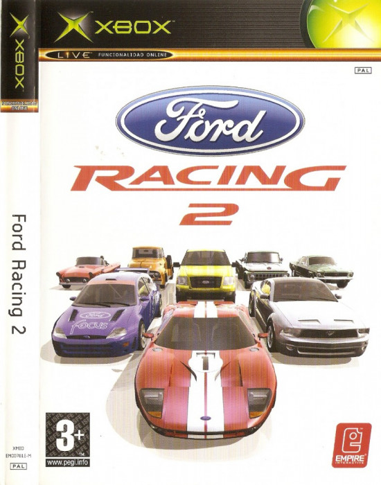 JOC XBOX FORD RACING 2 ORIGINAL PAL (Transport gratuit la plata in avans) foto mare