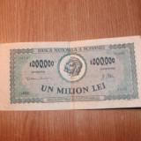 BANCNOTA DE UN MILION LEI ANUL 1947