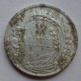 Monede Romania - 5 lei 1947 - 5 - Eroare - depuneri de material impresionante