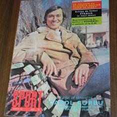 De colectie. REVISTA SPORT SPORTUL ILUSTRAT - nr 6/1973- STEAUA BUCURESTI - FOTO GRAFIE COLOR. foarte rar - Carte Hobby Sport