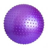 Minge Fitness - Minge mov pentru fitness si masaj - 85 cm diametru - cu pompa -