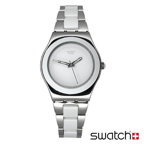 Женские часы Swatch фото. Люблю крупные массивные часы., на руке смотрятся вот так. Rss news