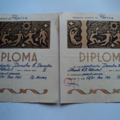 Diplome sportive popice 1971 - Diploma/Certificat