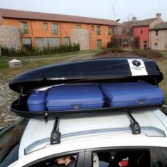 Cutie portbagaj Auto - Cutie Portbagaj Modula Travel Exclusive cu prinderi pe Bare Transversale 460 Litri
