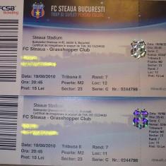 Bilet meci - Bilet STEAUA - GRASSHOPPER CLUB