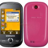Samsung corby - Telefon Samsung, Roz, Neblocat, 2 MP, Micro SD, Bluetooth: 1