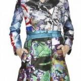 Palton dama - Desigual Jacket Electro Magie - Jacheta, Palton