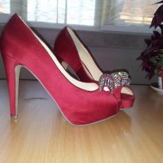 Pantofi IL PASSO rosii, marimea 38 - Pantofi dama, Culoare: Rosu, Rosu