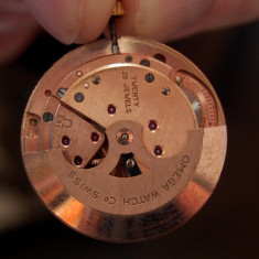 Aur ceas aur 20 jewels seamaster