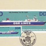 2359 - Germania DDR carte maxima 1982