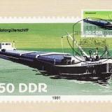 2310 - Germania DDR carte maxima 1981