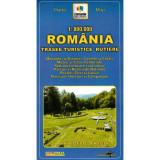 Grai Harta Romania - Trasee turistice rutiere