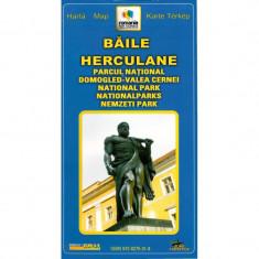 Harta Turistica - Grai Harta Baile Herculane