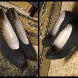 Pantofi dama Gabor piele intoarsa