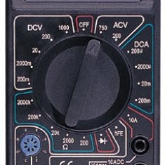 APARAT DE MASURA Multimetru digital DT-830B - NOU - Multimetre
