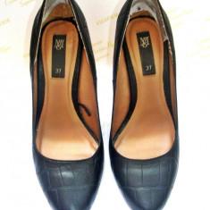 Vand pantofi de firma Mango - Pantof dama Mango, Marime: 37, Negru