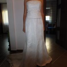 SUPERBA rochie mireasa ETERNITY BRIDAL...CU TRENA ...mar 14 uk - Rochie de mireasa sirena